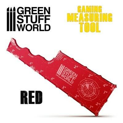 Gaming Measuring Tool - Red - Greenstuff World