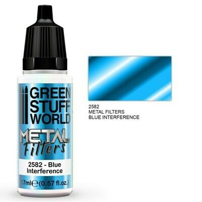 Metal Filters - Blue Interference - Greenstuff World