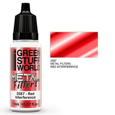Metal Filters - Red Interference - Greenstuff World