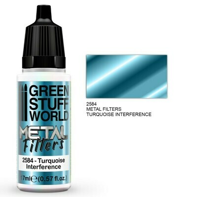 Metal Filters - Turquoise Interference - Greenstuff World