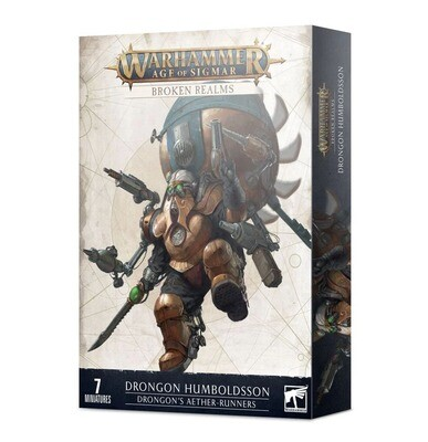 Broken Realms: Drongons Aetherläufer - Kharadron Overlords - Warhammer Age of Sigmar - Games Workshop