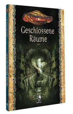 Cthulhu: Geschlossene Räume (Softcover) - Rollenspiel