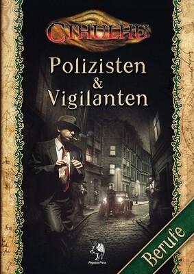 Cthulhu: Polizisten & Vigilanten (Softcover) - Rollenspiel