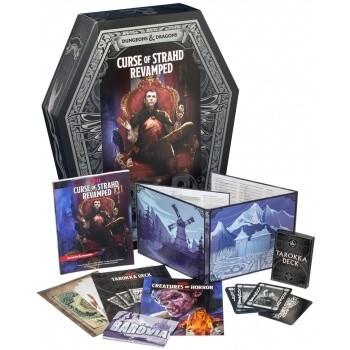 Dungeons & Dragons Adventure: D&D Curse of Strahd Revamped - EN