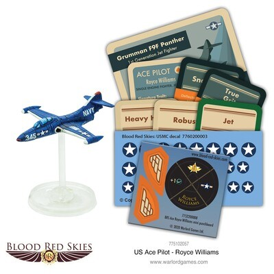 US Ace Pilot - Boots Blesse - Blood Red Skies - Warlord Games