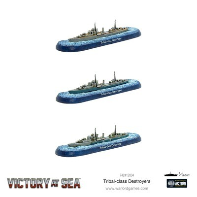 Victory at Sea - Tribal-class destroyers - Warlord Games