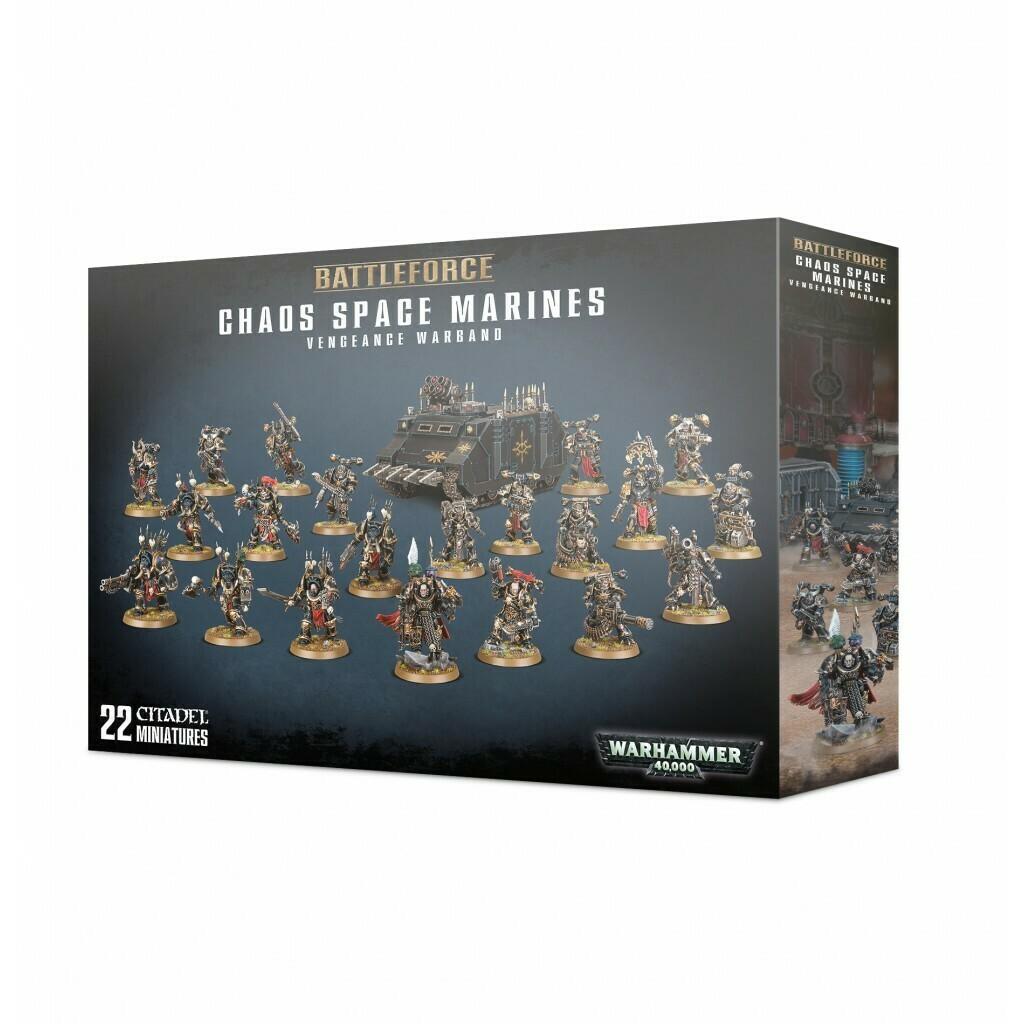 Battleforce der Chaos Space Marines Vengeance Warband Warhammer 40.000 - Games Workshop