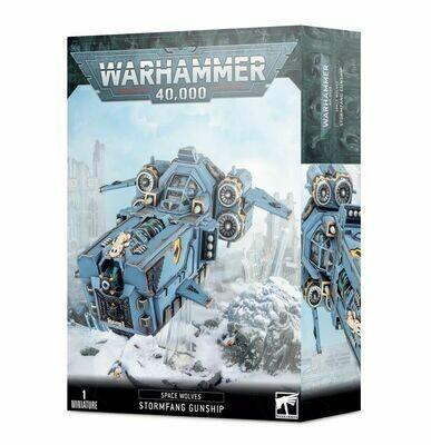 Stormfang Gunship Space Wolves - Warhammer 40.000 - Games Workshop