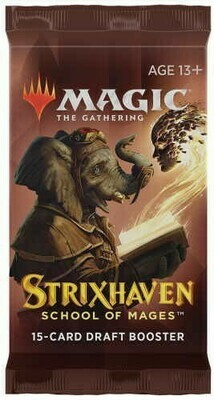 Strixhaven: School of Mages Draft Booster - E - Magic