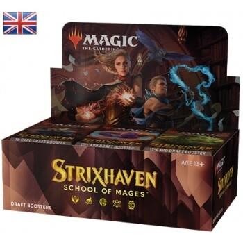MTG - Strixhaven: School of Mages Draft Booster Display - EN- Magic