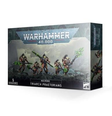 Necron Triarch Praetorians Lych Guard Triarchat Prätorianer- Necrons -Warhammer 40.000 - Games Workshop