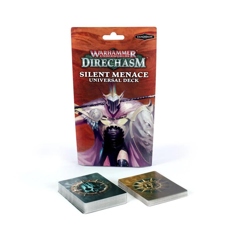 Warhammer Underworlds: Direchasm – Silent Menace Universal Deck (Englisch) - Warhammer Underworlds - Games Workshop