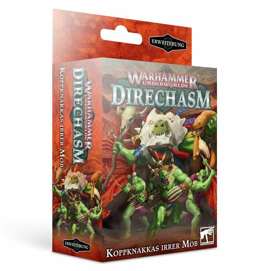 Warhammer Underworlds: Direchasm – Koppknakkas irrer Mob DEUTSCH - Games Workshop