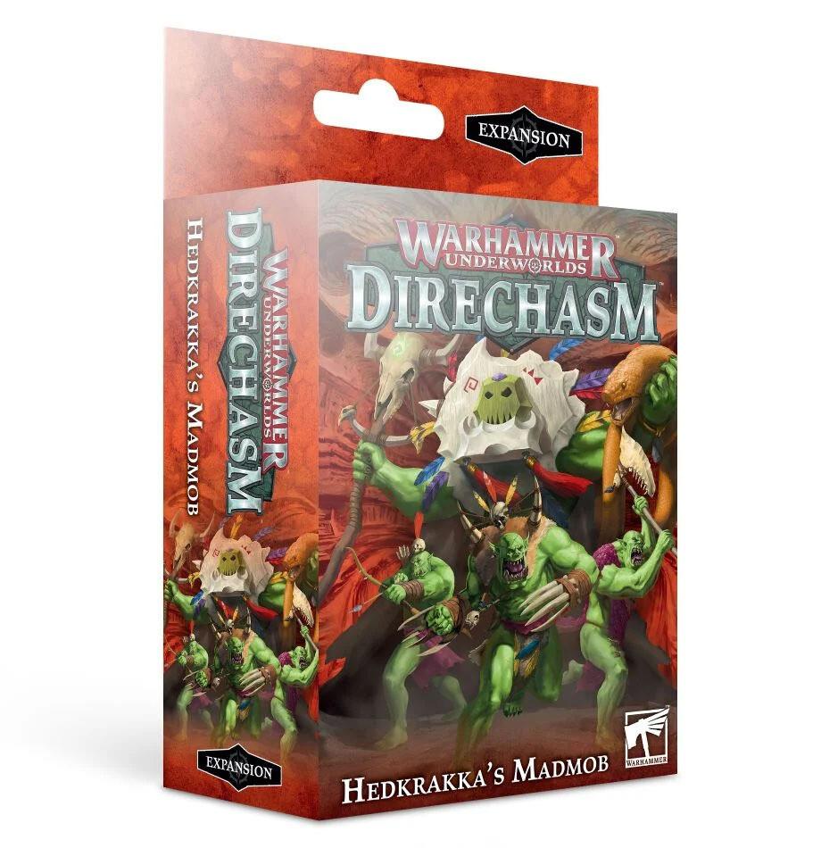 Warhammer Underworlds: Direchasm – Hedkrakka's Madmob (Englisch) - Games Workshop