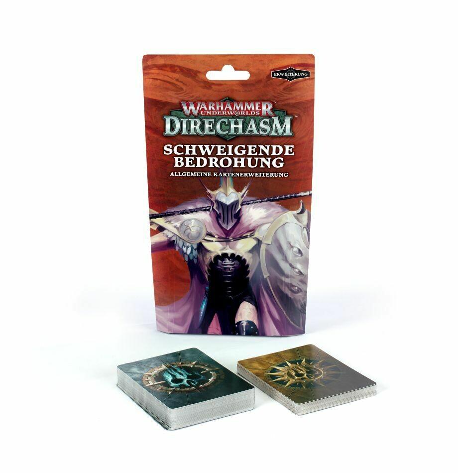 Warhammer Underworlds: Direchasm: Allgemeines Deck Schweigende Bedrohung DEUTSCH - Games Workshop