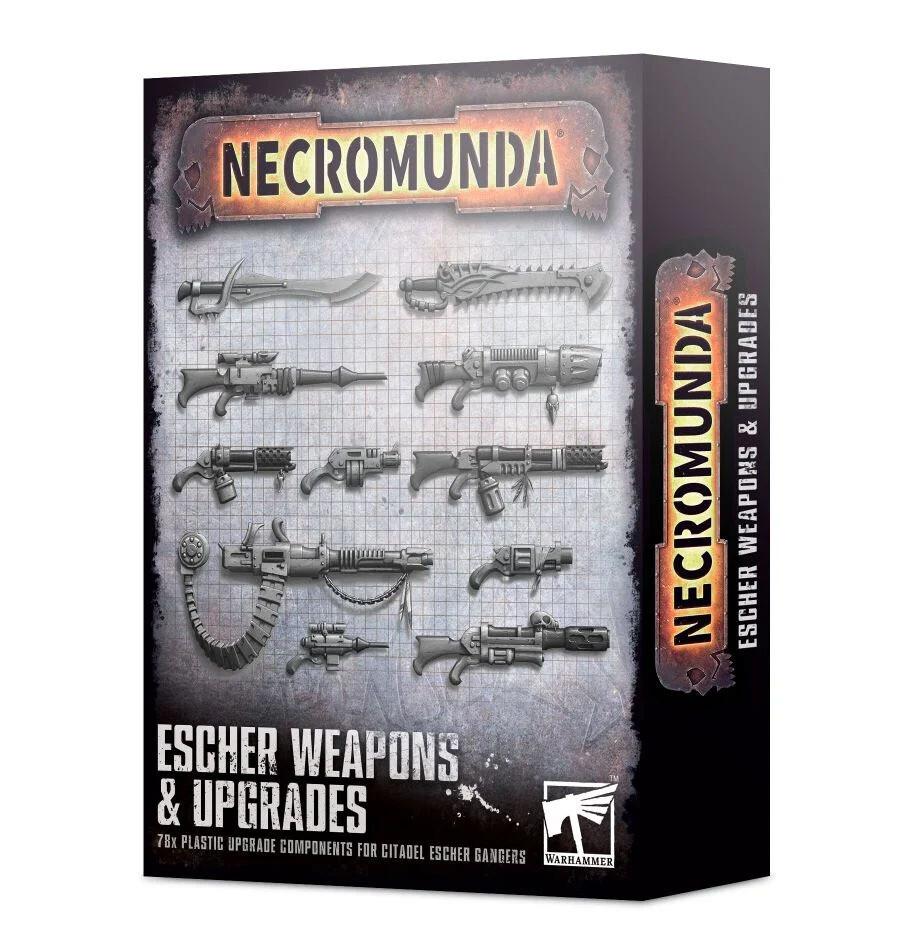Waffen & Upgrades für Escher Weapons & Upgrades - Necromunda - Games Workshop