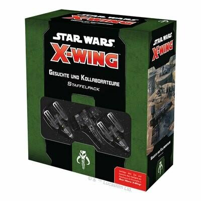 Star Wars: X-Wing 2. Edition – Gesuchte und Kollaborateure - DE