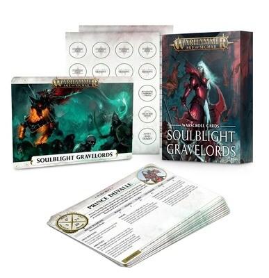 Warscroll Cards: Soulblight Gravelords (Englisch) - Warhammer Age of Sigmar - Games Workshop