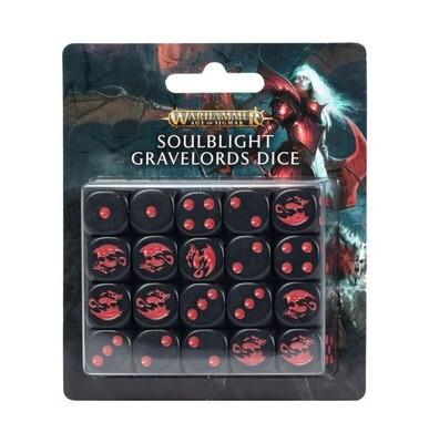 Würfelset: Soulblight Gravelords - Warhammer Age of Sigmar - Games Workshop