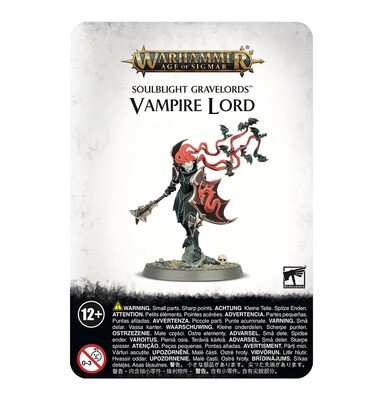 Vampire Lord - Soulblight Gravelords - Warhammer Age of Sigmar - Games Workshop