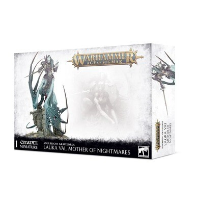 Lauka Vai, Mother of Nightmares / Vengorian Lord - Soulblight Gravelords - Warhammer Age of Sigmar - Games Workshop
