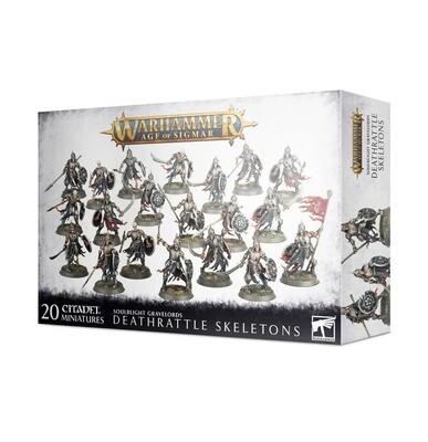 Deathrattle Skeletons - Soulblight Gravelords - Warhammer Age of Sigmar - Games Workshop