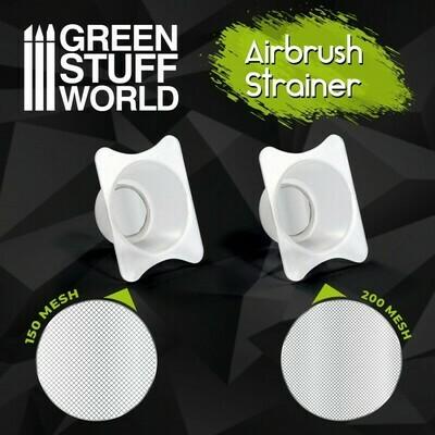 Filtertasse Farbreinigungsschale für Airbrush x2 Strainer Sieb - Greenstuff World