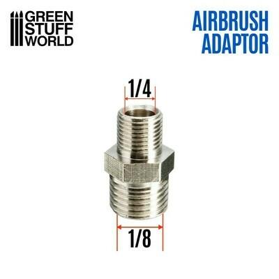 Airbrush-Gewindeadapter 1/4