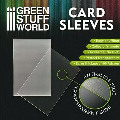 Kartenhüllen Sleeves - Standard 64x89mm (100pc)