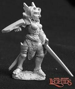 Yvonne, Warmaiden - Reaper Miniatures