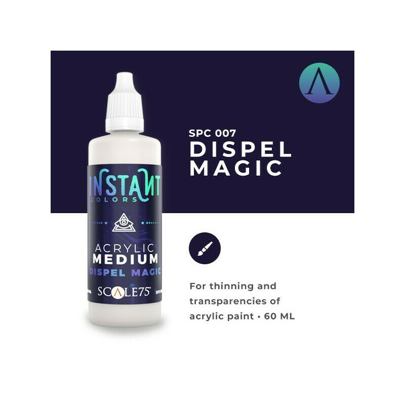 DISPEL MAGIC Acrylic Medium Instant Colors - Scalecolor - Scale75