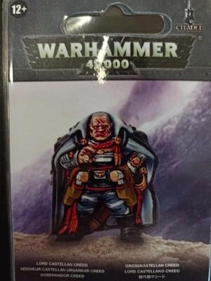 MO: Lord Castellan Creed - Astra Militarum - Warhammer 40.000 - Games Workshop