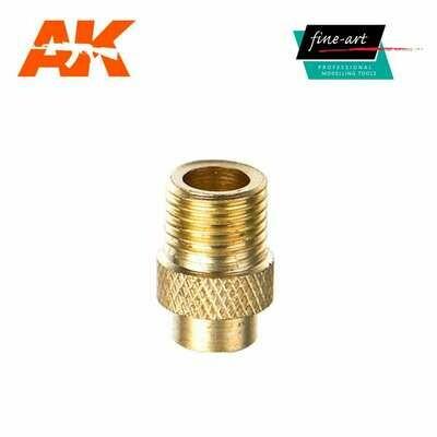 Connector A1 M5 female – 1,8″ male - Airbrush - AK Interactive