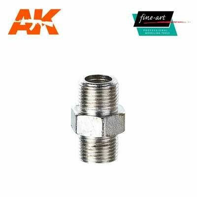 Connector A2 1,8″ male – 1,8″ male - Airbrush - AK Interactive