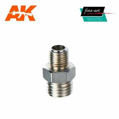 Connector A3 1,8″ male – 1,4″ male - Airbrush -  AK Interactive