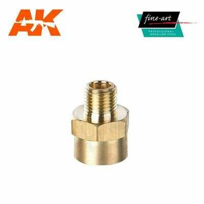 Connector A4 1,8″ male – 1,4″ female - Airbrush - AK Interactive