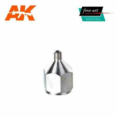 Connector A7 1,4″ female – M5 male - Airbrush - AK Interactive