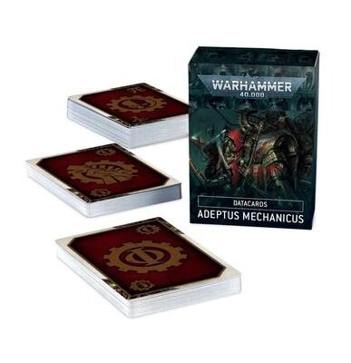 Datacards: Adeptus Mechanicus (Englisch) - Warhammer 40.000 - Games Workshop
