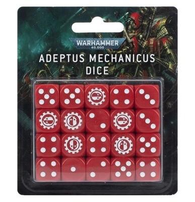 Würfelset Dice des Adeptus Mechanicus - Warhammer 40.000 - Games Workshop