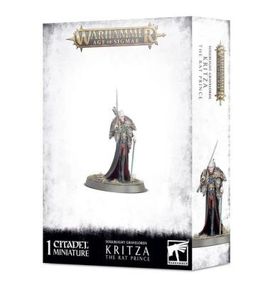 Kritza, The Rat Prince - Soulblight Gravelords - Warhammer Age of Sigmar - Games Workshop