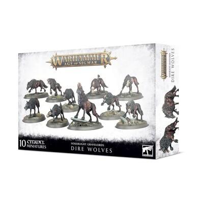 Dire Wolves - Soulblight Gravelords - Warhammer Age of Sigmar - Games Workshop
