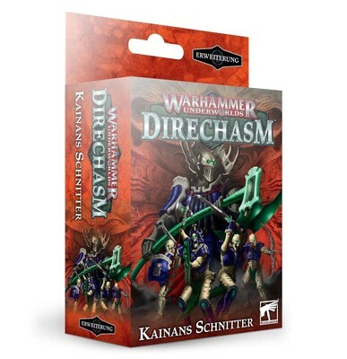 Warhammer Underworlds: Direchasm – Kainans Schnitter (Deutsch) - Games Workshop