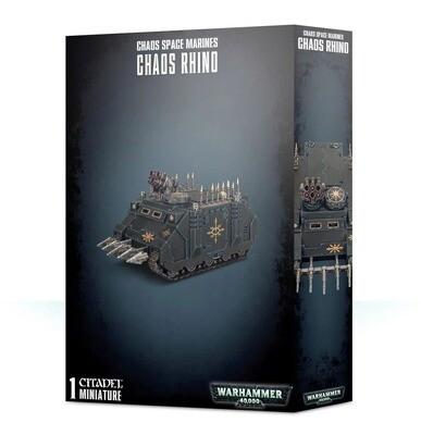 Chaos Space Marines Chaos Rhino - Warhammer 40.000 - Games Workshop