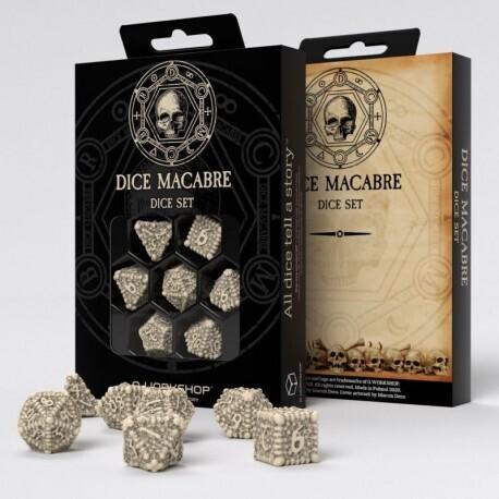 Dice Macabre Set (7) - Q-Workshop