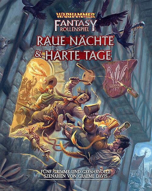 Warhammer Fantasy-Rollenspiel Raue Nächte & Harte Tage - Rollenspiel