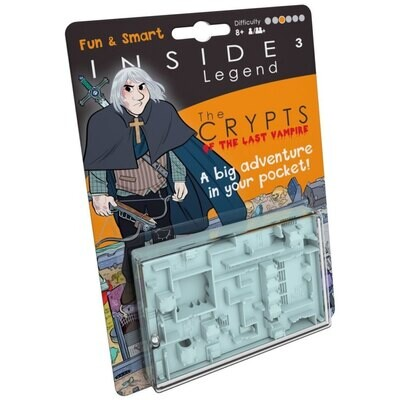 INSIDE³ Legend - The Crypts - Labyrinth-Spiel