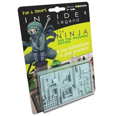 INSIDE³ Legend - The Ninja - Labyrinth-Spiel