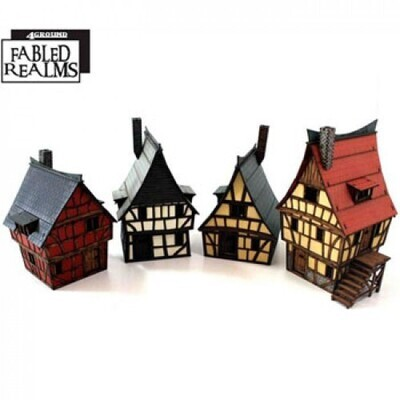The Highstreets of Mordanburgh Collection - Fabled Realms - 4Ground