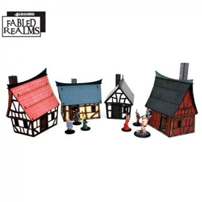 The Backstreets of Mordanburgh Collection - Fabled Realms - 4Ground