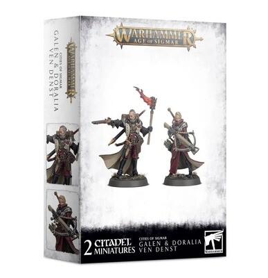Galen und Doralia ven Denst - Warhammer Age of Sigmar - Games Workshop